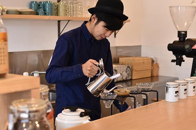Safari Coffee Roaster(サファリコーヒーロースター)  秋吉真吾さん