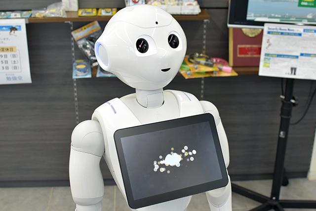 人型ロボットのPepper