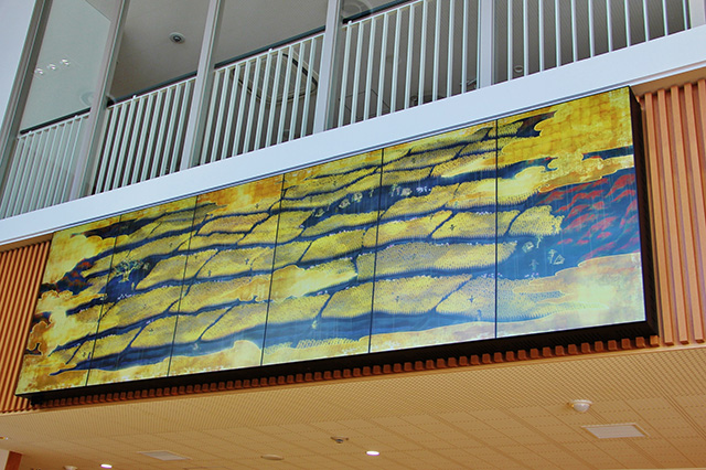 国東半島 デジタルアート作品『四季千年神田図 田染荘』