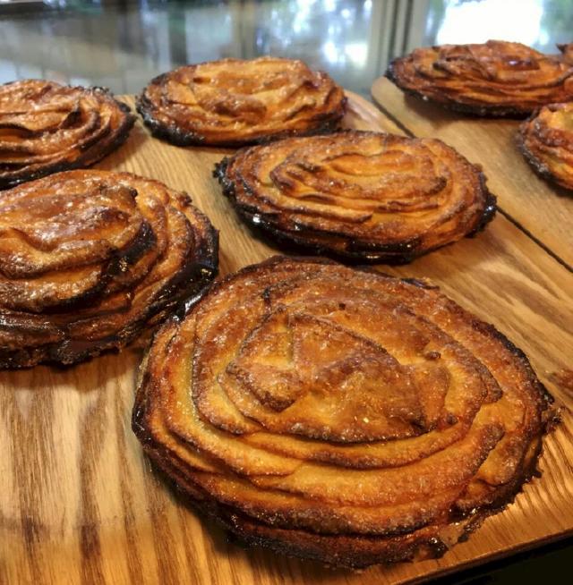 大分 香りの博物館 カフェ サ・サンボン アップルパイ