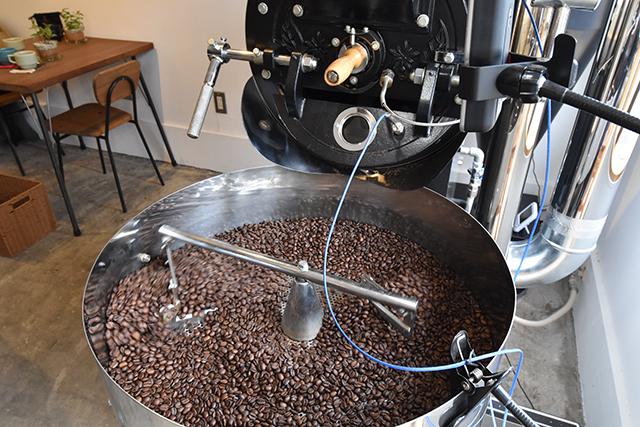 コーヒー 焙煎