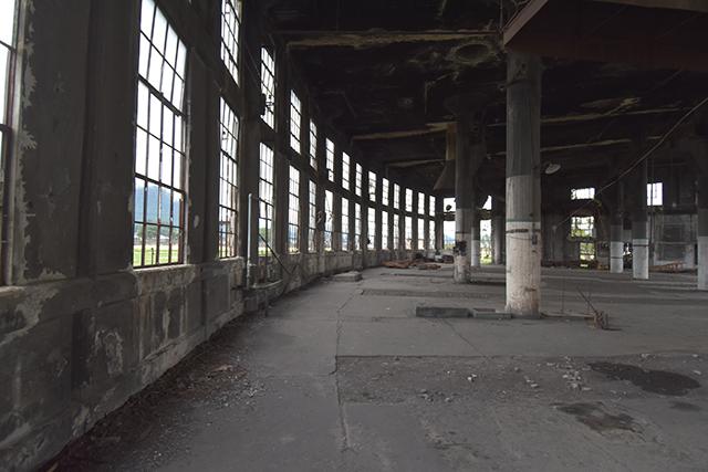 豊後森機関庫 内部