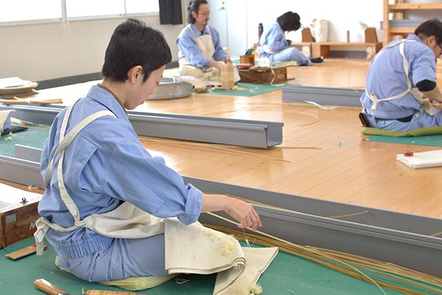 大分県立竹工芸訓練センター 基本課題