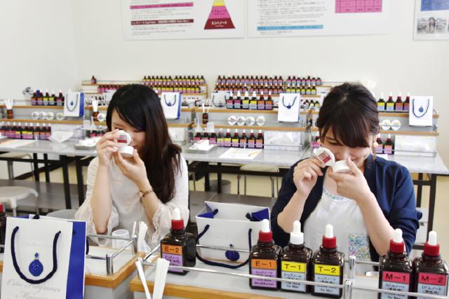 大分 香りの博物館 調香体験工房