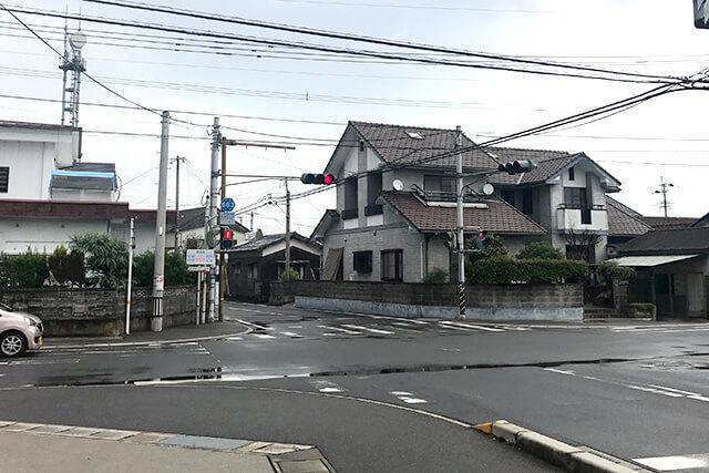 姫島の信号