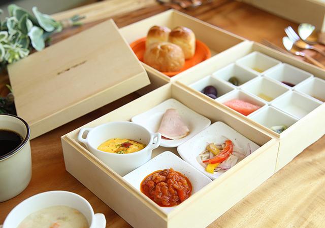 湯布院温泉郷グランピングCOMOREBI 朝食