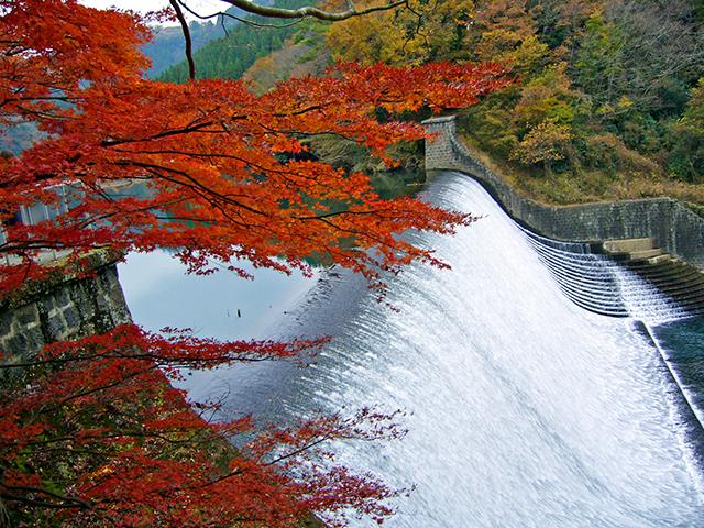 日本一美しいダム 白水ダム
