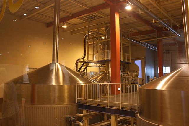 森の中のビール工場 サッポロビール九州日田工場 タンク