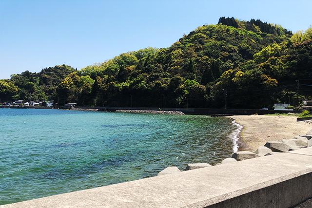 五感で感じる島時間-九州オルレ さいき・大入島- 白浜海岸