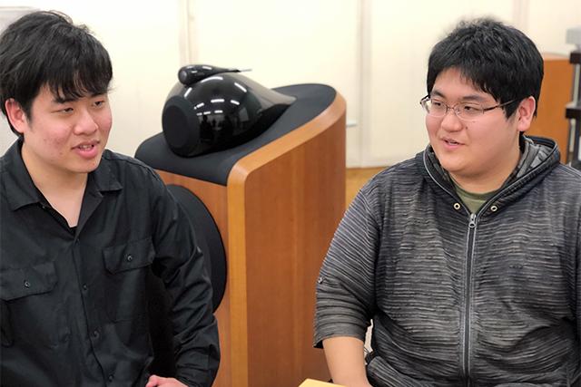 河野慎治さんと池見光士郎さん