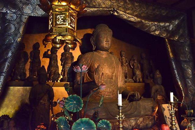 開山1300年 六郷満山 無動寺 特別展示 薬師如来坐像