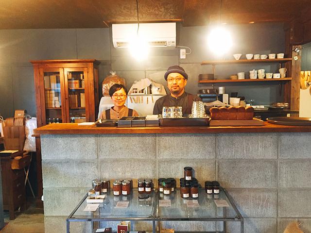 中津 Craft Chocolate Cafe「ハル チョコレート店」 塩崎夫妻