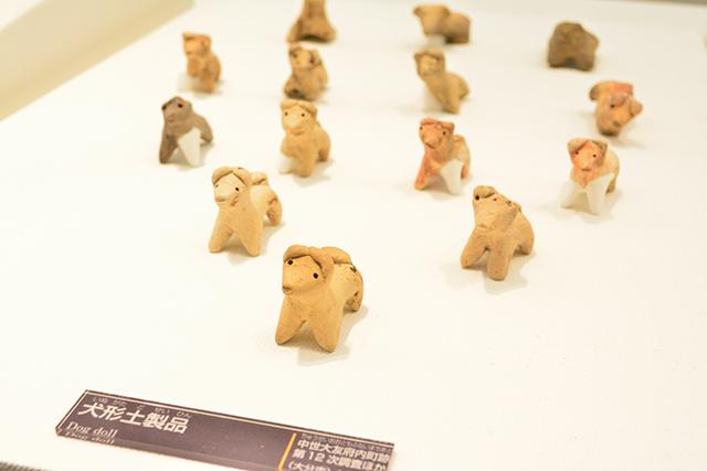 大分県立埋蔵文化財センター 犬形土製品
