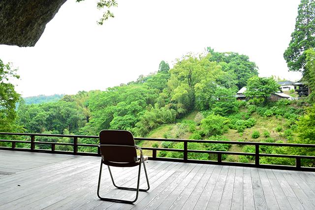 普光寺 紫陽花 磨崖仏 舞台