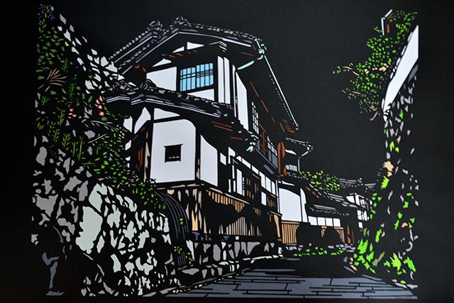 """美しき""""神業"""" 切り絵アートの世界 磨崖仏"""