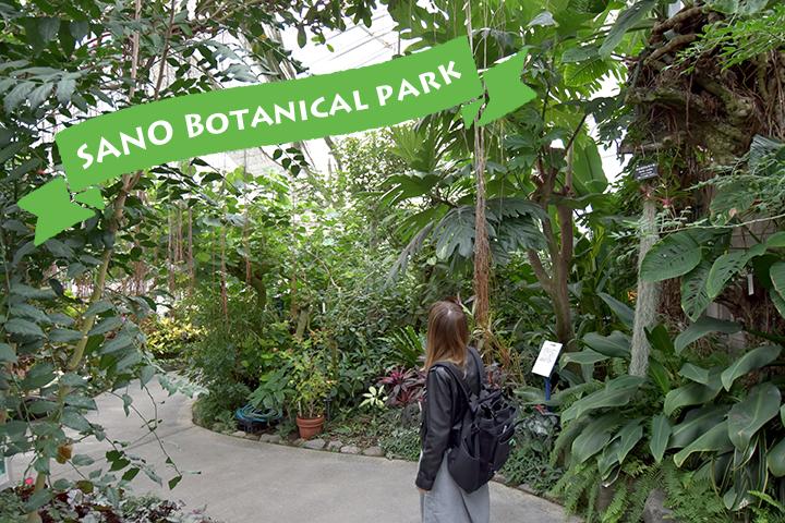 足湯でぽかぽか♪佐野植物公園