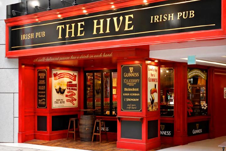 ついに大分に誕生!IRISH PUB THE HIVE