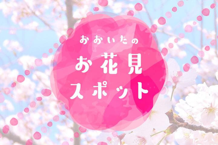 お花見の計画たてましょ♡ -大分のお花見スポットをピックアップ-